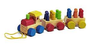 Trem com Pinos
