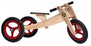 WoodBike (Balance Bike) - Bicicleta de Equilíbrio de Madeira