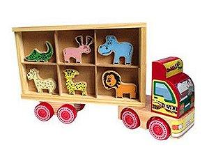 Caminhão Zoo Transporte