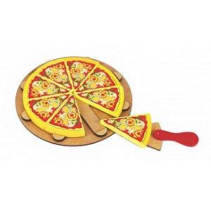 Coleção Comidinhas - Pizza Fatiada