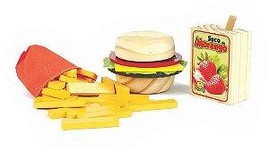 Coleção Comidinhas - Kit Sanduíche