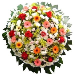 Coroa de Flores Média