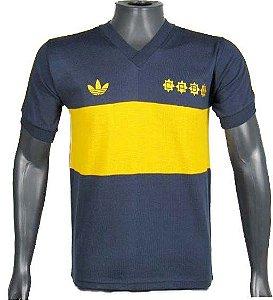 Camisa Retrô Boca Junior Maradona