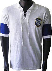 Camisa Retrô Seleção Brasileira Brasil 1914