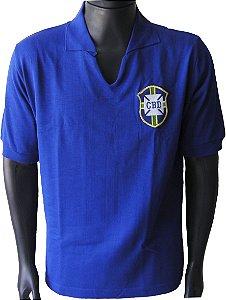 Camisa Retrô Seleção Brasileira Brasil 1958