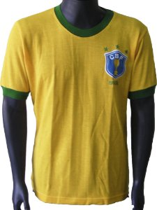 Camisa Retrô Seleção Brasileira Brasil 1982