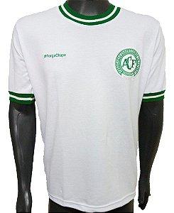Camisa Retrô Chapecoense 1977 Branca #forçachape