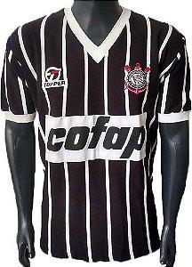 Camisa Retrô Corinthians Cofap 1983