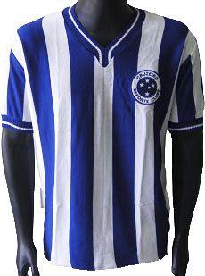 Camisa Retrô Cruzeiro Listrada 1945