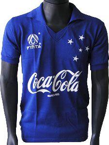 Camisa Retrô Cruzeiro Coca Cola 1990
