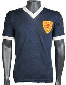 Camisa Retrô Seleção Escocesa Escocia