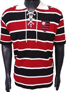 Camisa Retrô Flamengo Cobra Coral 1914