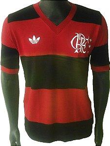 Camisa Retrô Flamengo 1981 Rubronegro