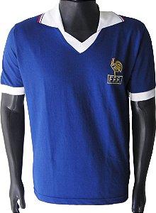 Camisa Retrô Seleção Francesa França