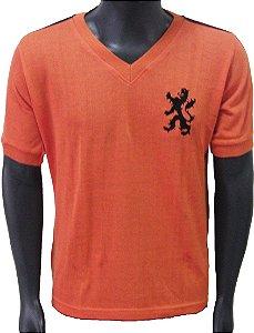 Camisa Retrô Seleção Holandesa Holanda 1974