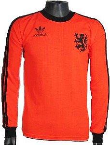 Camisa Retrô Seleção Holandesa Holanda Cruyff