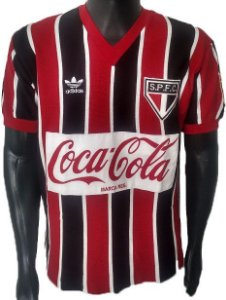 Camisa Retrô São Paulo SPFC Tricolor 1989
