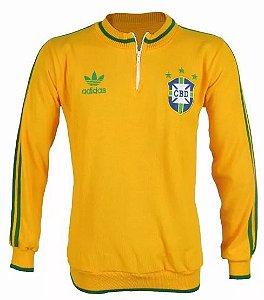 Agasalho / Jaqueta Seleção Brasileira Brasil TOP