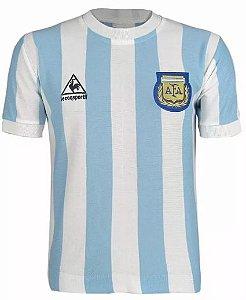 Camisa Retrô Seleção Argentina Home Le Coc 1986