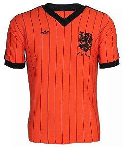 Camisa Retrô Seleção Holandesa Holanda 1982