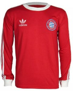Camisa Retrô Bayern de Munique anos 80