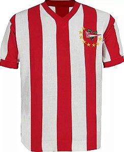 Camisa Retrô Estudiantes Argentina 8 Estrelas