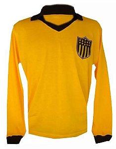 Camisa Retrô Peñarol Amarela 1980