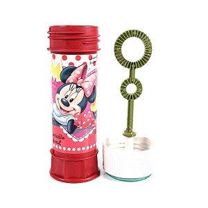 Bolinhas Bolhas De Sabão Minnie Mouse Disney Atóxica 60ml
