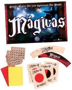 Jogo De Mágicas C/ Acessórios - Pais E Filhos Ref: 2805
