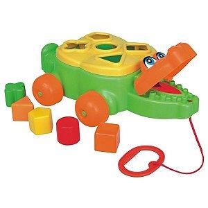 Jacaré Junior Brinquedo Blocos Montar