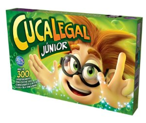 Jogo Cuca Legal Junior + De 300 Perguntas Tabuleiro - 95610