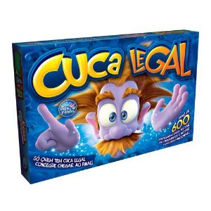 Jogo Cuca Legal 600 Perguntas Tabuleiro - 95612