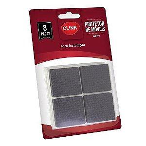 Protetor De Móveis De Velcro Retangular 4 Cm Com 8 Peças
