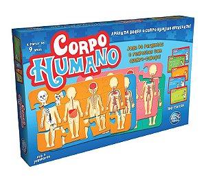 Jogo O Corpo Humano 180 Cartas + Quebra Cabeças