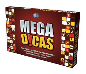 Jogo Mega Dicas Top Line Tabuleiro Pais & Filhos - 126999