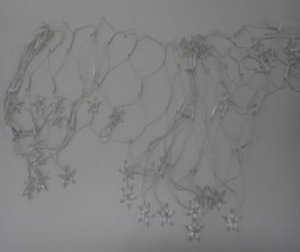 Natal Pisca Rede C/120 Lâmpadas Led Estrela 127v