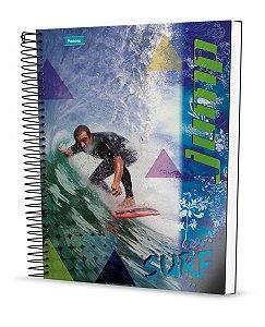Caderno Universitário Jump 1 96 Fls. 1X1 New