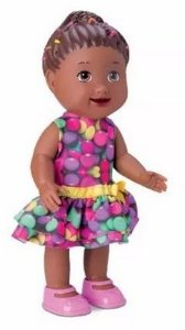 Boneca My Little Collection Negra Doutora Divertoys New