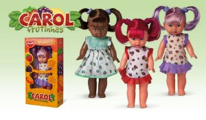 Boneca Carol Morango Frutinhas New