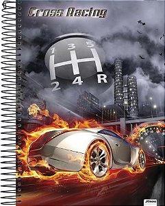 Caderno Universitário Cross Racing 1 New