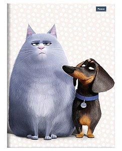 Caderno Brochurão Pets 3 New