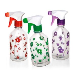 Kit 3 Pulverizadores Paris Decorado 450ML New