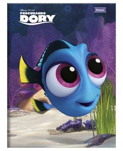 Caderno Brochurão Procurando Dory 1  New