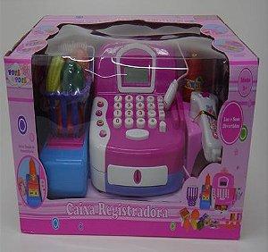 Brinquedo Caixa Registradora com Acessorios New