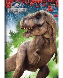Caderno Brochurão Jurassic Park 2  New