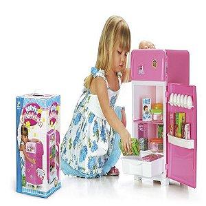 Brinquedo Geladeira Infantil New