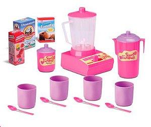 Brinquedo Conjunto Cozinha Milk Shake Sweet Fantasy New