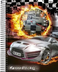 Caderno Universitário Cross Racing 3 New