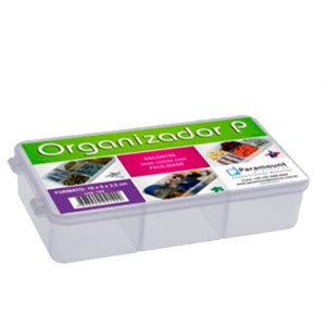 Kit C/3 Organizador Pequeno Transparente New