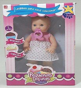 Boneca Pequenas Doçuras Brigadeiro Cupcake New